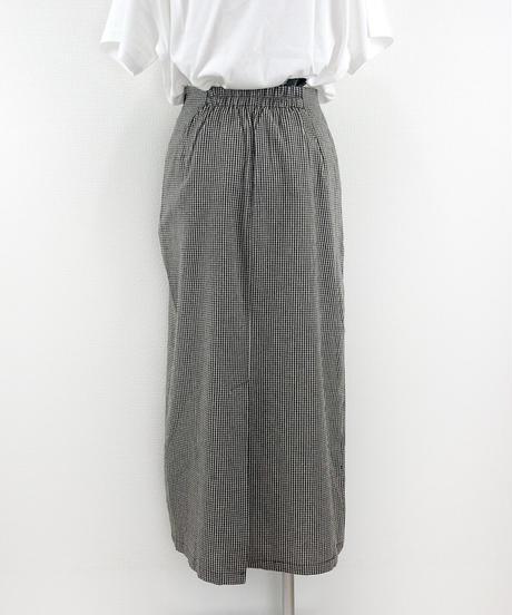 チェックロングスカート(AG146005-09)