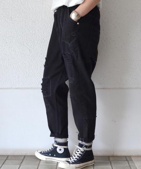 リメイクデニムルーズパンツ(AH022004-09)