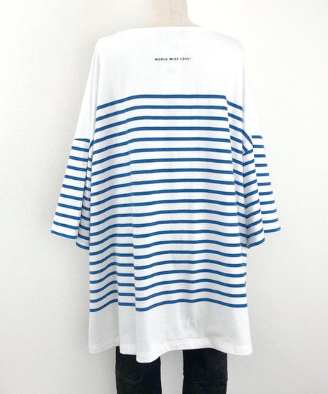 スーパーBIGボーダーTシャツ(AF238005-30)