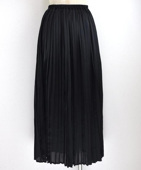 サテンプリーツスカート(AG035003-09)