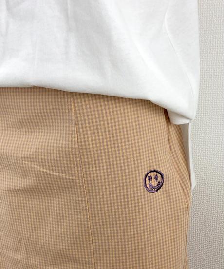 チェックロングスカート(AG146005-80)