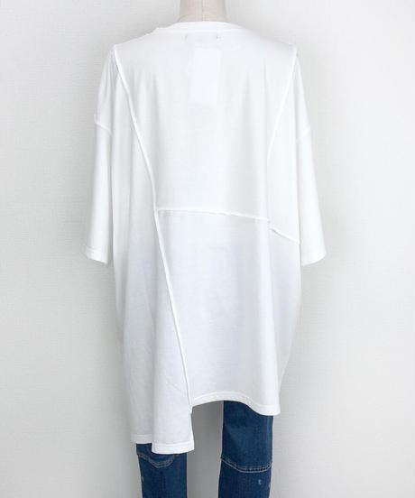 パッチワークBIGTシャツ(AF231005-01)