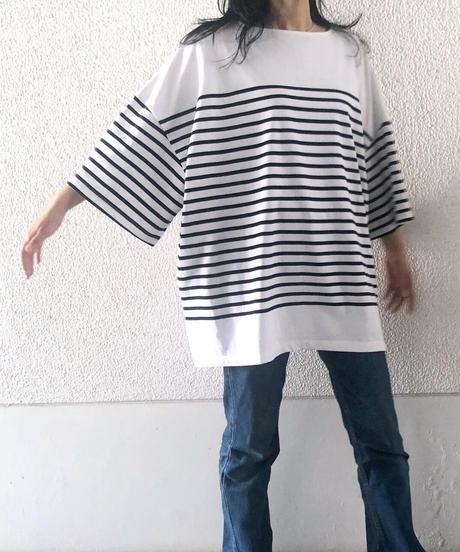 スーパーBIGボーダーTシャツ(AF238005-32)