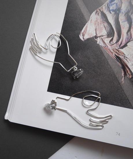 mudraa pierce/earrings SILVER