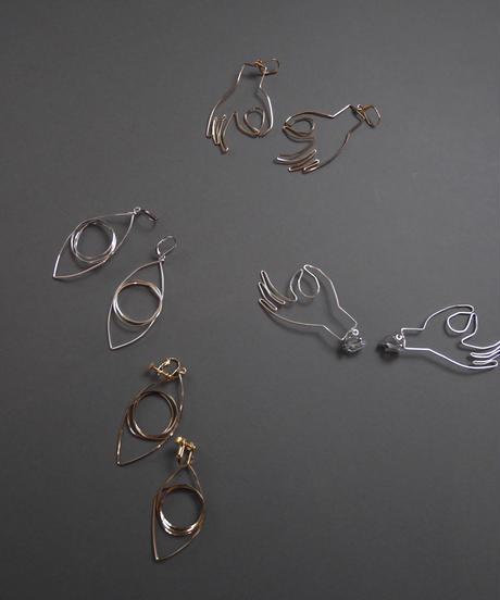 eyes pierce/earrings GOLD