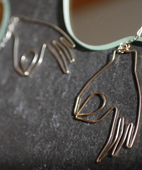 mudraa pierce/earrings GOLD