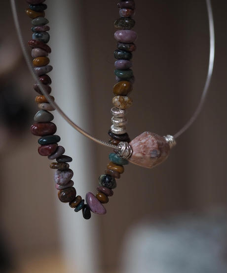 marble source necklace -nudy A-