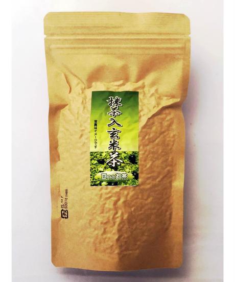 豆なお茶【抹茶入玄米茶】150g