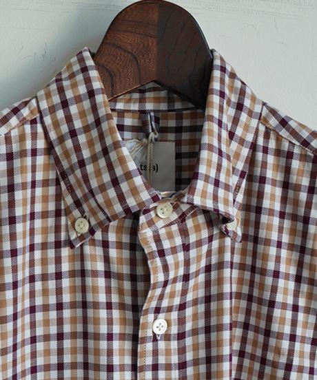 ts(s) Tattersall Plaid Cotton Cloth B.D. Shirt