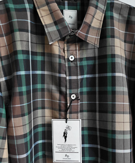 KICS DOCUMENT. T/C Plaid Regular Shirts