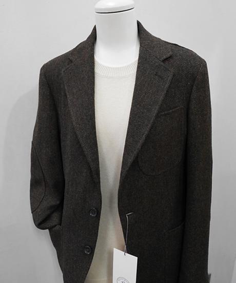 YAMAGUCHI STORE Diagonal Tweed Jacket