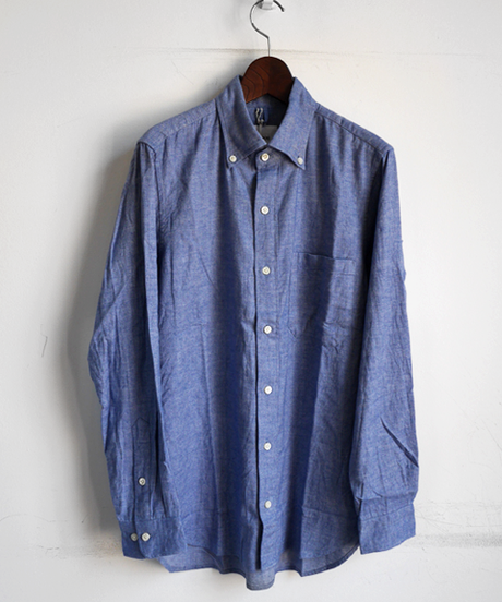 ts(s) Brushed Heather Cotton Twill Cloth B.D. Shirt