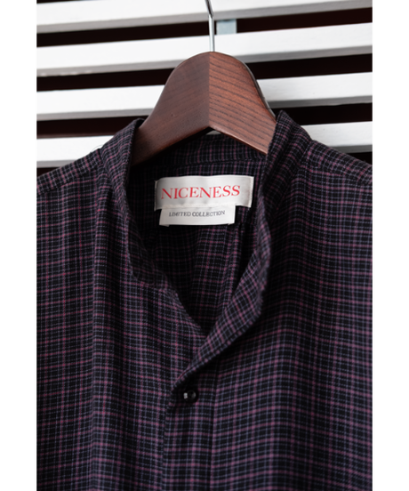"NICENESS Detchable Collar Shirt ""MILLER"""