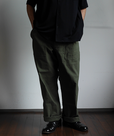 ARAN Fatigue Pants Army Green