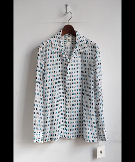 mando Square Print Shirt