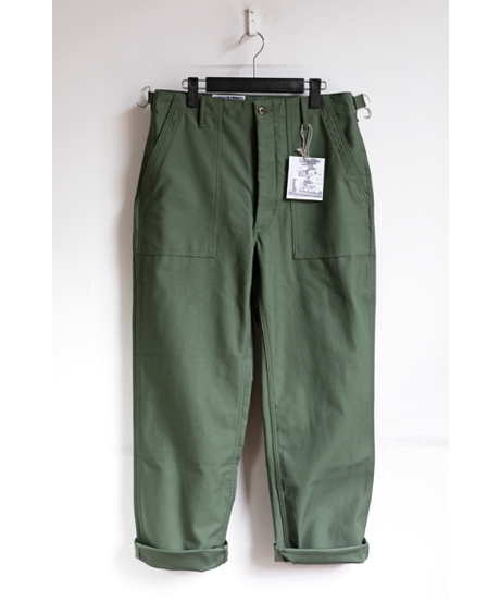 WORKADAY Cotton Reversed Sateen Fatigue Pant