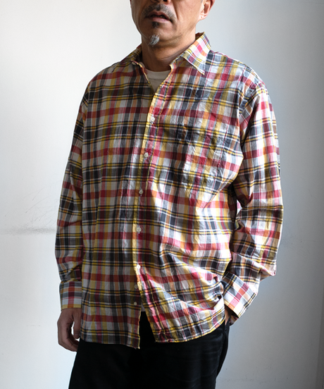 INDIVIDUALIZED SHIRTS Classic Fit Regular Collar Summer Madras