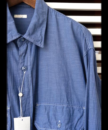 COMOLI ベタシャン CPOシャツ
