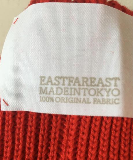 EASTFAREASTコットンビーニ Italian Red
