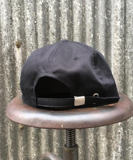 No problem man cap ブラック