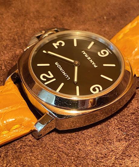 オフィチーネ・パネライ ルミノール ベース  44mm E番(2002年) 【中古】 PALU-04