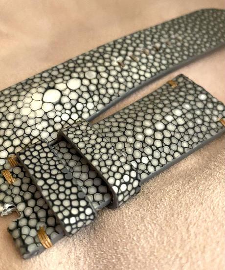 スティングレイ  腕時計ベルト グレー (ラグ幅26mm - バックル幅22mm)  sti-31