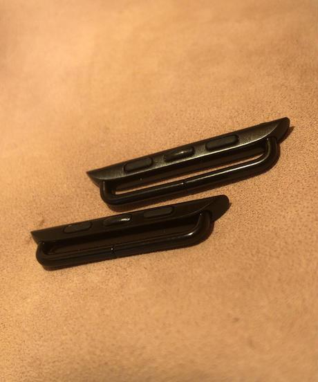 アップルウォッチアダプター 黒 38、40mm/ 42、44mm apbla