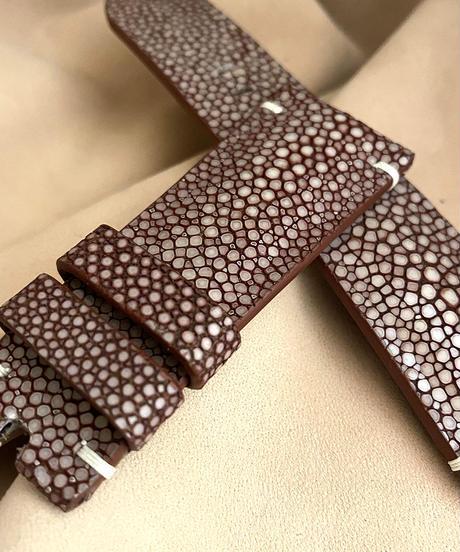 sti-73 スティングレイ  腕時計ベルト ブラウン (ラグ幅26mm - バックル幅22mm)