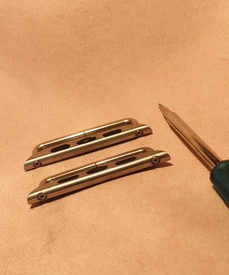 アップルウォッチ/ アダプター シルバー 38,40mm/ 42,44mm apsil