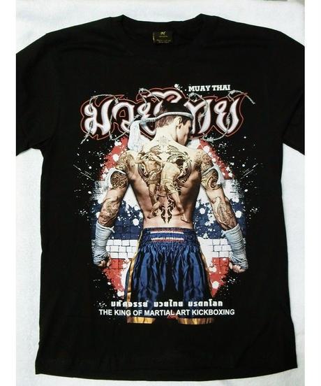 ビッグサイズTシャツ ムエタイ タトゥー柄 XXL