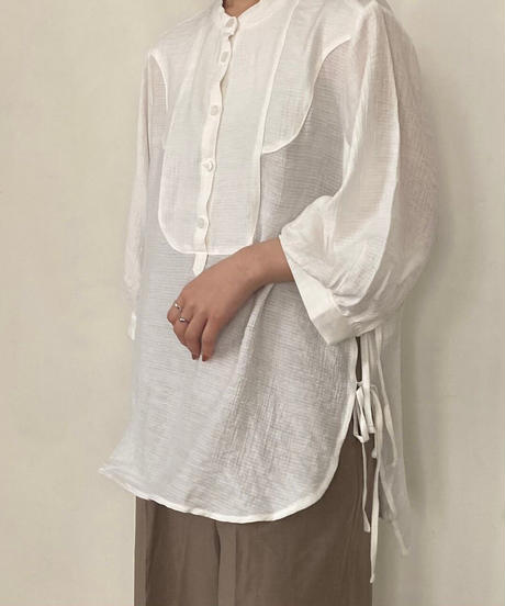 side ribbon shirt