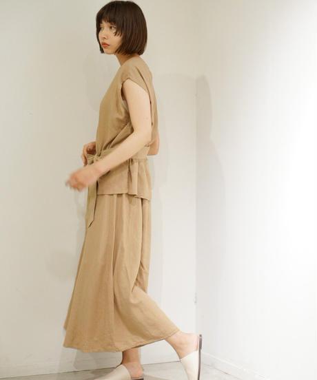 linen skirt set up