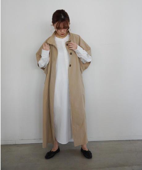 spring coat dark beige