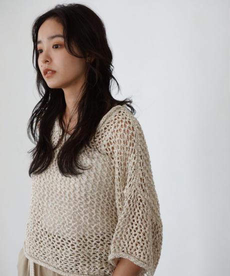 mesh short knit