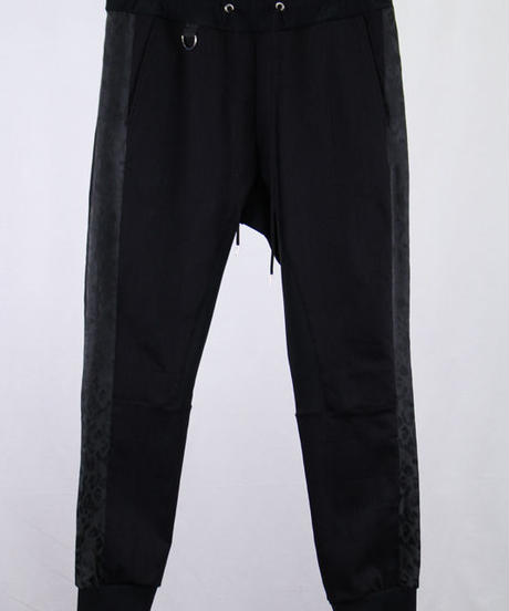 Bennu(ヴェンヌ)  110740502  / CP Denim Line Jogger Pants-BLACK/JQ