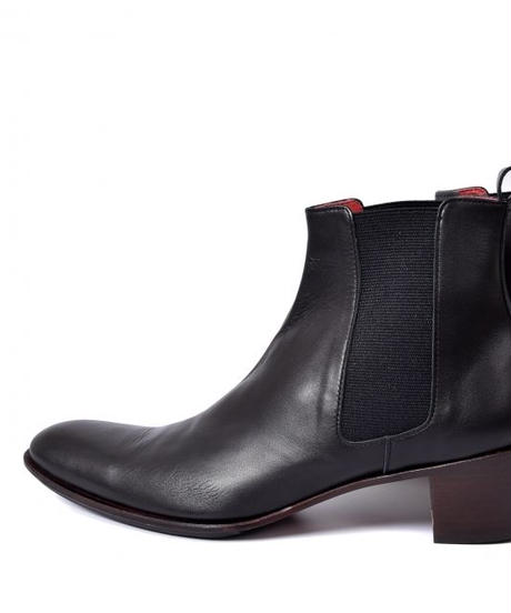 Bennu(ヴェンヌ)  110554202 / Cow smooth Side Gore Heel Boots