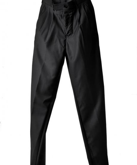 Bennu (ヴェンヌ)110230508 / Tuxedo cloth Wide Trousers