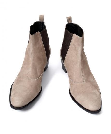 Bennu(ヴェンヌ)  110554201 / Cow nubuck Side Gore Heel Boots