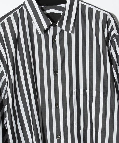 ys Yuji SUGENO (イース ユウジ スゲノ)  220230402B / Striped long shirt-WHITE