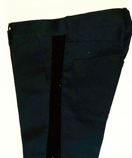 Bennu(ヴェンヌ)  420840503 / RESURRECTION Collaboration Velvet line Crash Pants