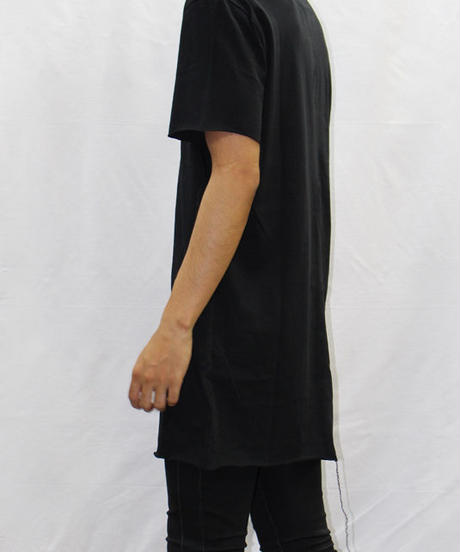 Bennu (ヴェンヌ)420610103 / 『gene par YUKIO MISHIBA』Collaboration Cut-off Tee shirts