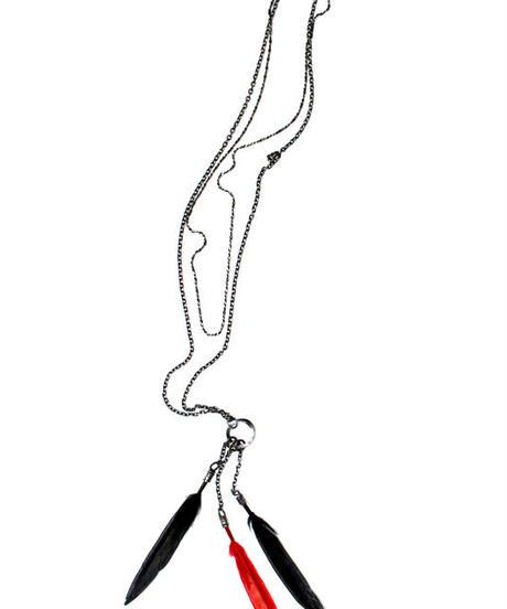 Bennu(ヴェンヌ)  420765001 /  SURREALISTE collaboration Feather Necklace
