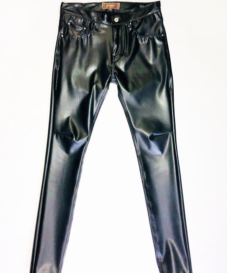 Bennu(ヴェンヌ) 120840502 / Super Stretch Synthetic Leather  Skinny Pants