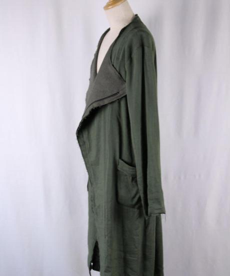 Bennu(ヴェンヌ)  110731101  / Rider's No-collar Long Coat