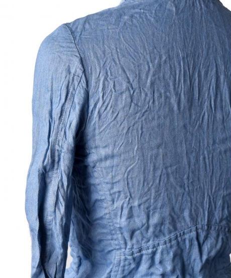 Bennu (ヴェンヌ)110540903 / C / L Denim denim No-collar riders jacket