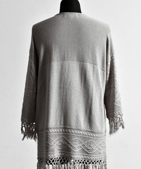 Bennu (ヴェンヌ)110320302/ Cotton Change Jacquard Frenz V-PO-BEIGE