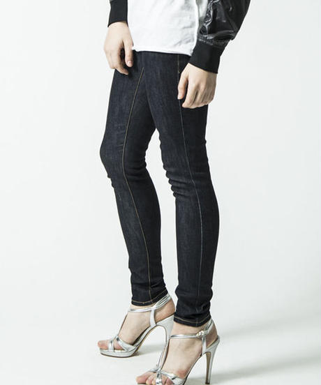 Bennu(ヴェンヌ)  130340509 / Basic Skinny Denim Pants