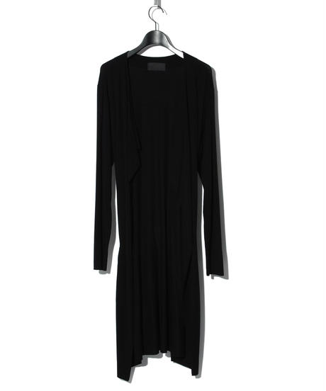 ys Yuji SUGENO (イース ユウジ スゲノ)  220210301 / Outlast Wrap Long Gown-BLACK