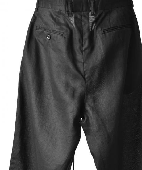 Bennu (ヴェンヌ)110530501 / Cold Merce Linen Easy Wide Pants