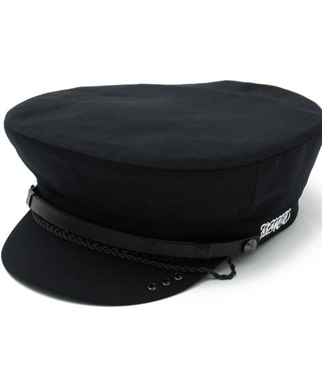 BLACK HONEY CHILI COOKIE (ブラックハニーチリクッキー) 2902703 / Chain Police Cap - BLACK